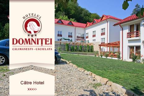 Hotelul Domnitei Cazare Caciulata